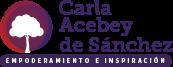 Logo Carla Acebey de Sánchez