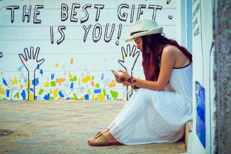Amate y date cuenta que el mejor regalo eres tu mujer